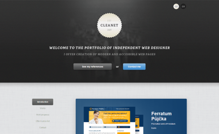 Cleanet - Webdesign and Code