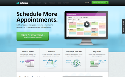 Setmore - Free Online Appointment Calendar, Scheduling Software