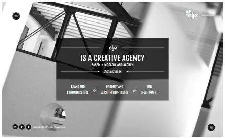 elje design creative agency. Brand and Communication, Product and Architecture Design, Web Development