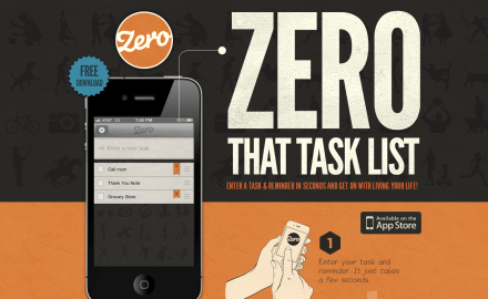 Zero - iPhone To-Dos and Reminder